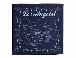 Los Angeles Bandana - Navy