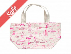 Los Angeles Mini Tote Pink
