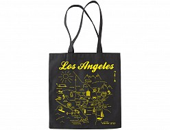 Los Angeles Black Everyday Tote