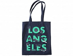 Los Angeles FONT Denim Tote