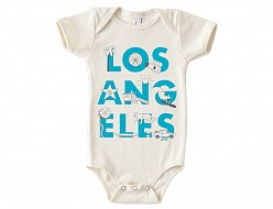 Los Angeles Font One-Piece