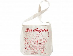 Los Angeles Natural Hobo Tote