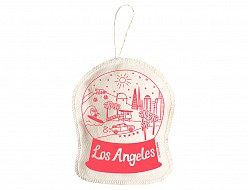 Los Angeles Ornament Coral