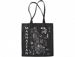 Manhattan Black Everyday Tote