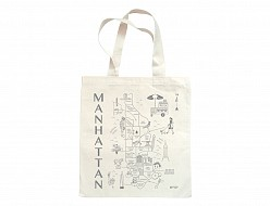 Manhattan Metallic Grocery Tote