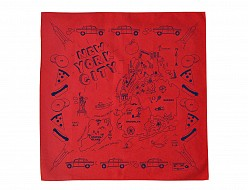 New York City Bandana - Red