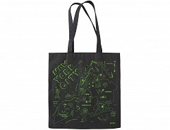 New York City Black Everyday Tote