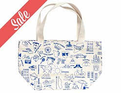 New York City Mini Tote Blue