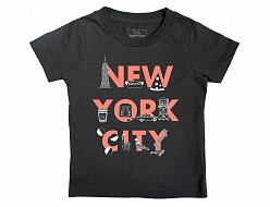 New York City FONT Toddler Tee