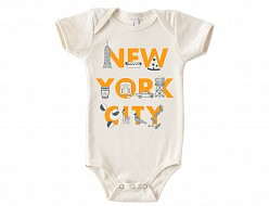 New York City FONT One-Piece