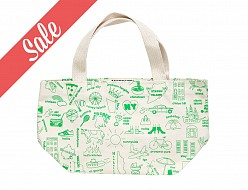 New York City Mini Tote Green