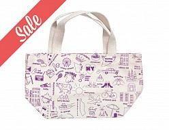 New York City Mini Tote Purple