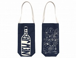 Denim New Jersey Wine Tote