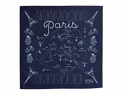 Paris Bandana - Navy