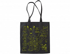 Philadelphia Black Everyday Tote