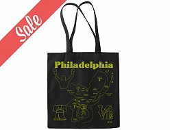 Philadelphia Black Tote - SALE