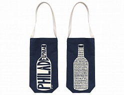 Denim Philadelphia Wine Tote