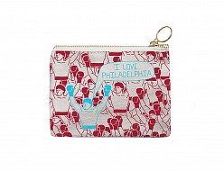 Philadelphia Coin Purse Red/Blue