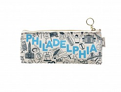 Philadelphia Pencil Pouch Natural