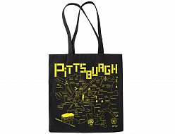 Pittsburgh Black Everyday Tote