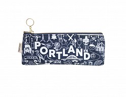 Portland Pencil Pouch Denim