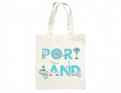 Portland FONT Grocery Tote