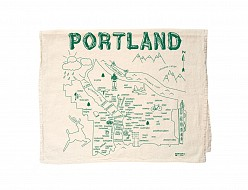 Portland Tea Towel Natural