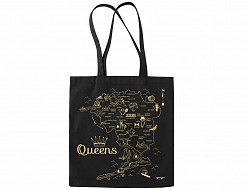 Queens Black Everyday Tote