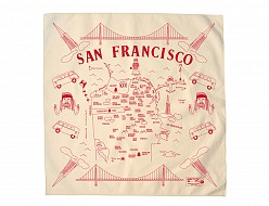 San Francisco Bandana - Natural