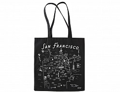 San Francisco Black Everyday Tote