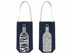Denim San Francisco Wine Tote