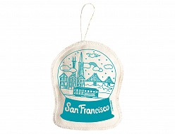 San Francisco Ornament Teal