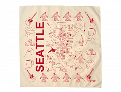 Seattle Bandana - Natural