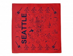 Seattle Bandana - Red