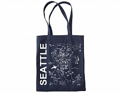 Seattle Denim Tote