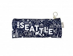 Seattle Pencil Pouch Denim