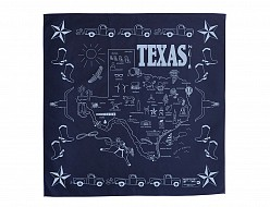 Texas Bandana - Navy