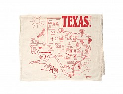 Texas Tea Towel Natural