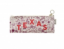 Texas Pencil Pouch Natural