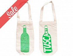 Tuscany Wine Single Tote - SALE