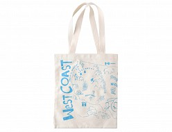 USA Blue Grocery Tote
