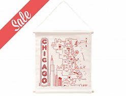 Chicago Wall Hanging - Sale