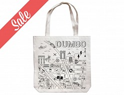 DUMBO Natural Market Tote - SALE