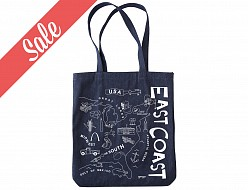 East Coast Denim Market Tote - SALE