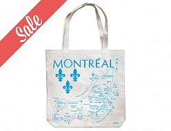 Montreal Natural Market Tote - SALE
