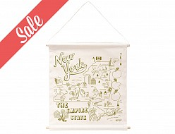 New York State Wall Hanging - Sale