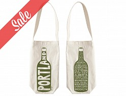Portland Single Wine Tote - SALE