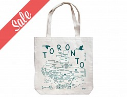 Toronto Natural Market Tote - SALE