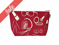 Makeup Pouch - Red