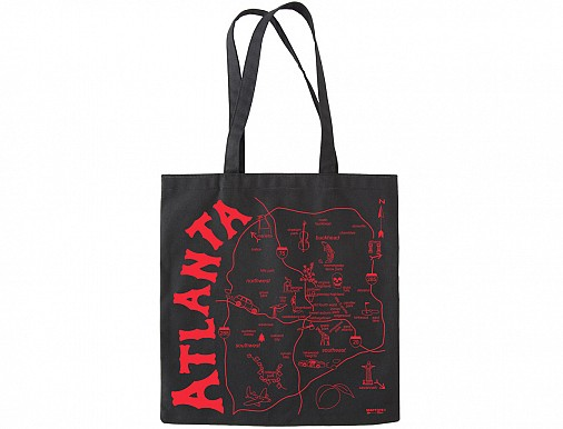 Atlanta Black Everyday Tote